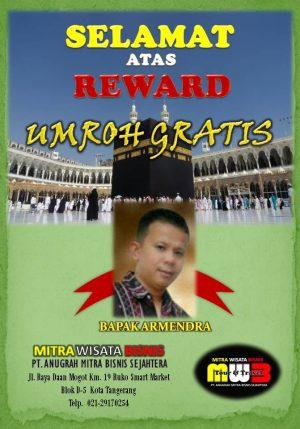 REWARD UMROH ARMENDRA